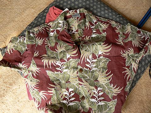 '08ハワイ お土産:アロハシャツ