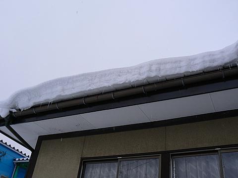 080113 屋根の雪