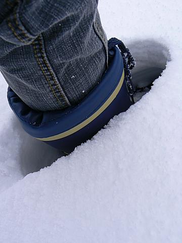 080113 雪の深さ