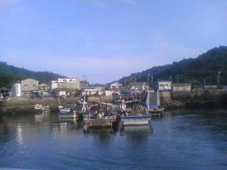 走島の船着き場