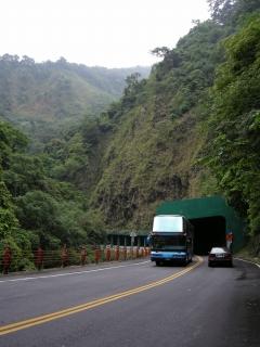 霧トンネル