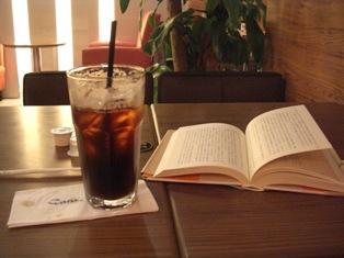 休日の喫茶店
