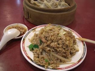 李品蒸餃世家(黒胡椒豚炒飯)
