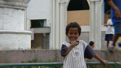 セブの子供の笑顔