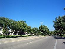 Irvine 住宅街