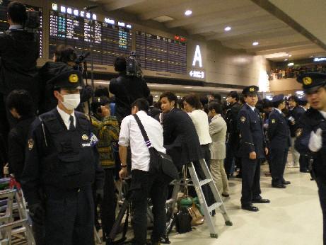 成田空港で2