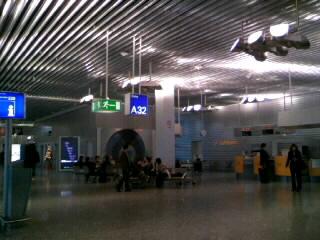 フランクフルト空港 A32