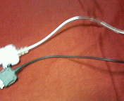 充電器の線