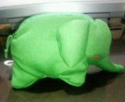 ゾウのポーチ