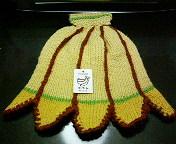 バナナの帽子