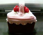 ケーキ型ポーチ1-2