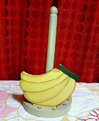 バナナ キッチンペーパーホルダー?