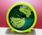 バナナ 置時計