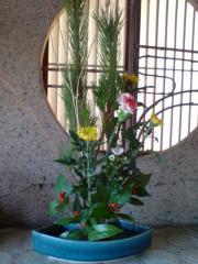 お正月活花