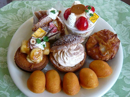ヨコヤマシェフのケーキ