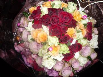 薔薇120本 001