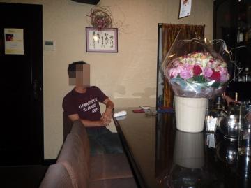 薔薇120本 010
