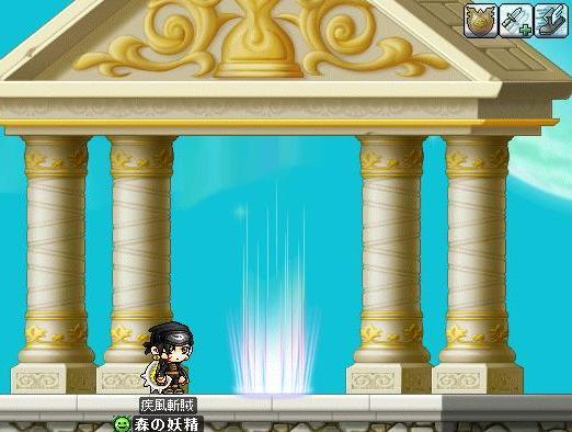時間の神殿入口