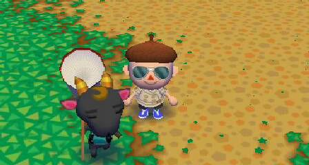 ジョジョファッションのヤギ