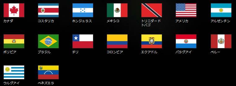 北中南米2
