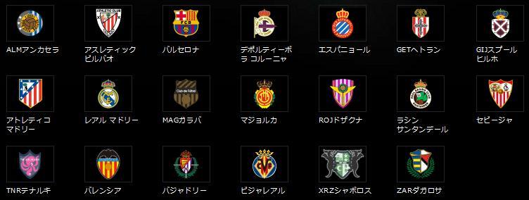 スペインリーグ2
