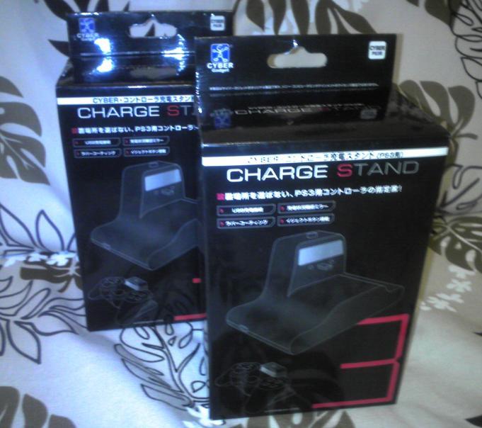 PS3コントローラ充電スタンド