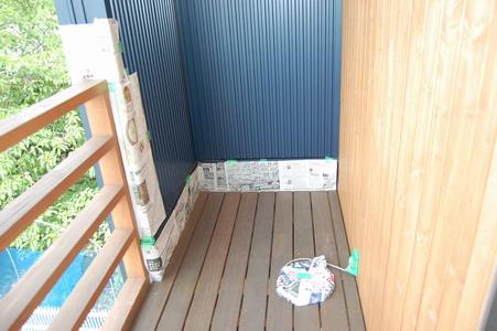 20080607ベランダ&デッキ塗装1