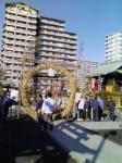 亀戸浅間神社 茅の輪