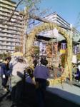 亀戸浅間神社 茅の輪2