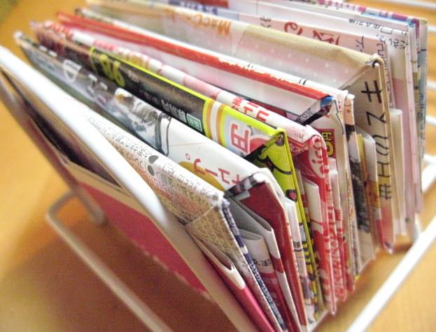 すべての折り紙 折り紙 ゴミ箱 チラシ : すぐに使えるようにストック。