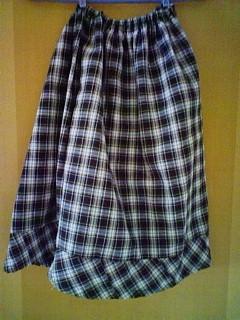靖子スカート1