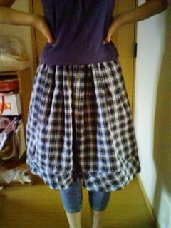 靖子スカート2