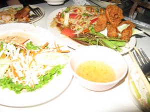 タイの晩御飯