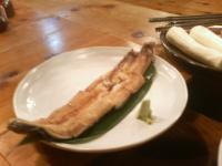 山女庵の天然鰻の蒲焼き