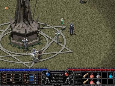 ArsMagna MMO オンラインゲーム