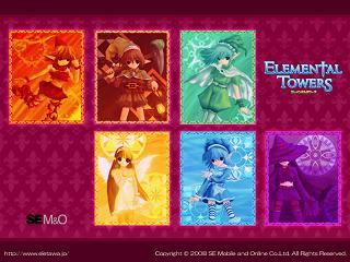エレメンタルタワーズ MMO オンラインゲーム