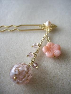 kanzashi pink
