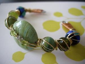 sculpture bracelet