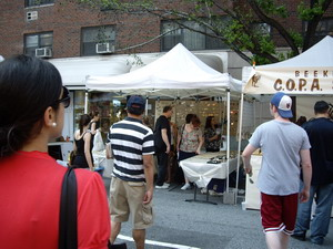 jewelry shop at street fest