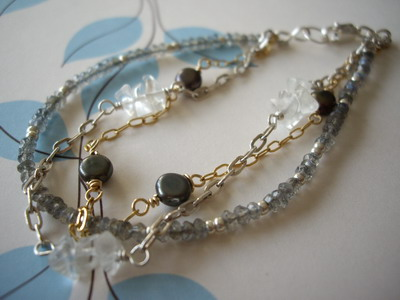 three strands bracelet