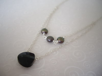 two in one necklace