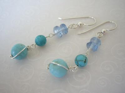 turquise earrings