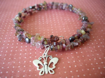 Healing bracelet tourmaline