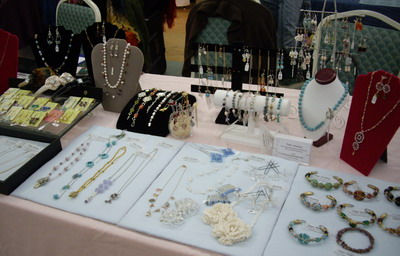 my jewelry at show