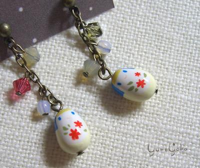 青ずきん+小花