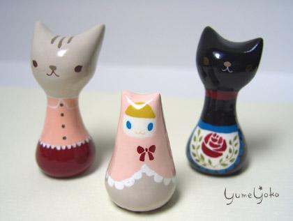 ネコさんとネコずきんマトリョーシカ