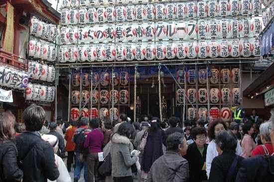 賑わうニの酉 鷲神社