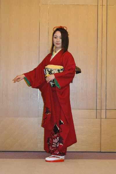 三桃さんの衣装