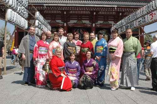 東京観光全員集合