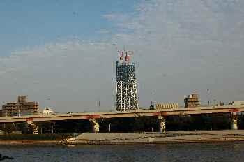 タワーの工事